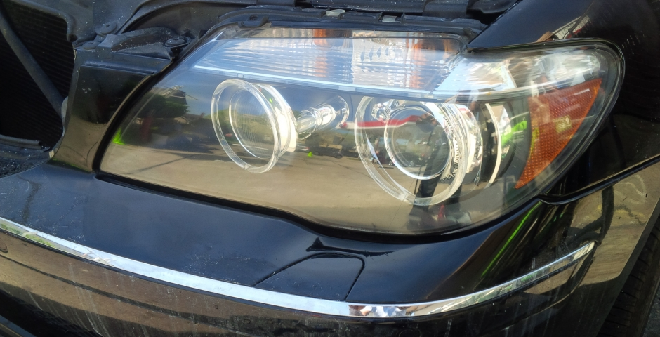BMW Headlight Restoration After