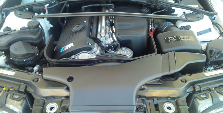 BMW Engine Detailing