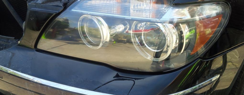 BMW Headlight Restoration After