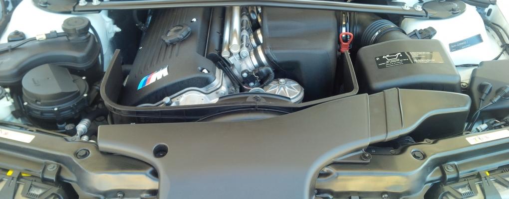 BMW Engine Detailing